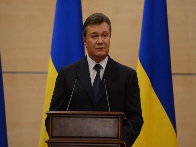 Yanukovych calls on Ukraine army to not use force