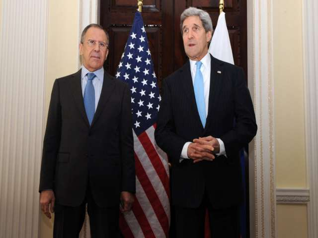 Kerry, Lavrov discuss Syria and Ukraine