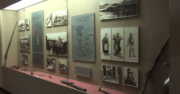 Albanian history presented in Tiran National Museum