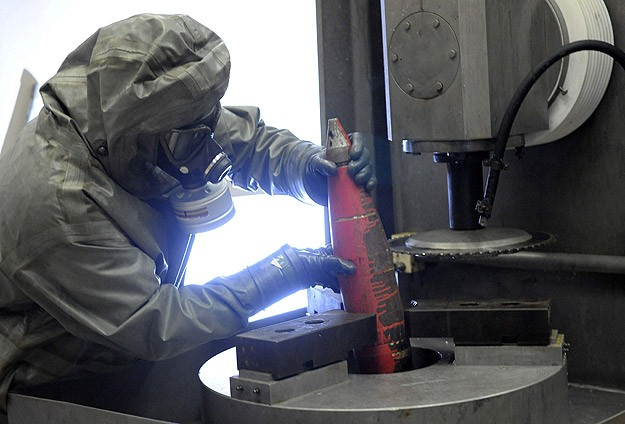 Germany begins incinerating Syria's toxic chemicals