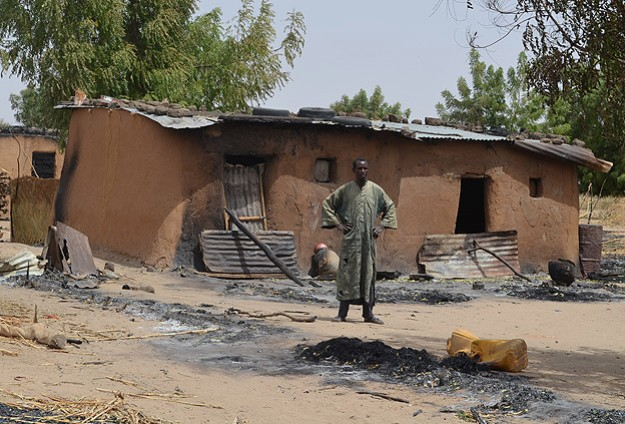 Nigeria claims to find Boko Haram arms cache in burnt church