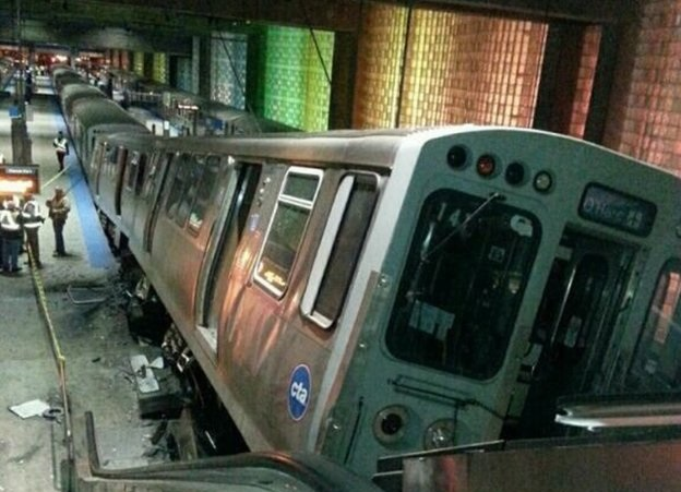 32 injured in Chicago airport train crash