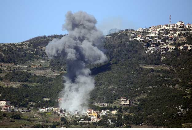 Mortar shells from Syria fired into Turkey-UPDATED