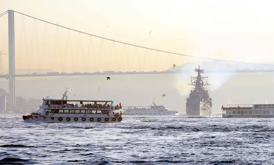 US, French military ships transit Turkey's straits