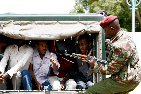 Kenya detains 600 in Mombasa roundup