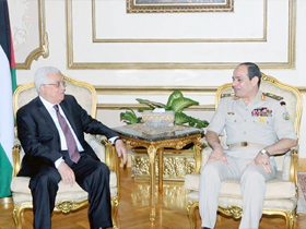 Palestinian leader meets Sisi in Cairo