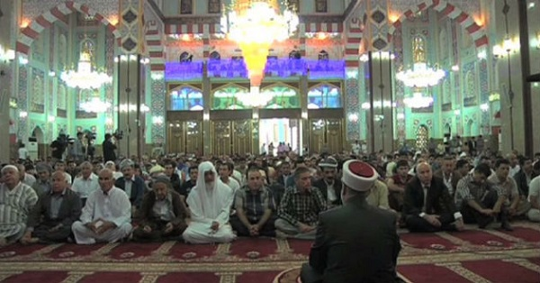 Iraqi Turkmens in Erbil welcome Turkish mosque sermon