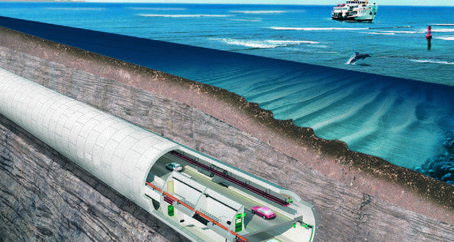 Istanbul's Euroasia tunnel near next phase