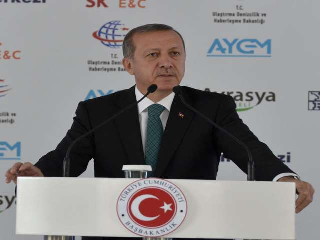 Turkish PM Erdogan slams wiretapping