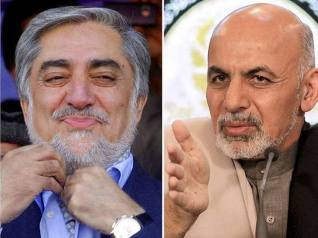 Afghan election poised for Abdullah-Ghani run-off