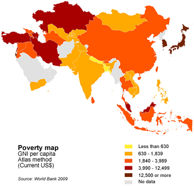 1.6 billion in Asia-Pacific at risk of extreme poverty