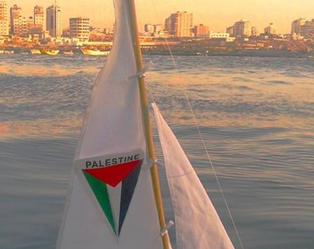 Gaza protest boat blown up, activists blame Israel