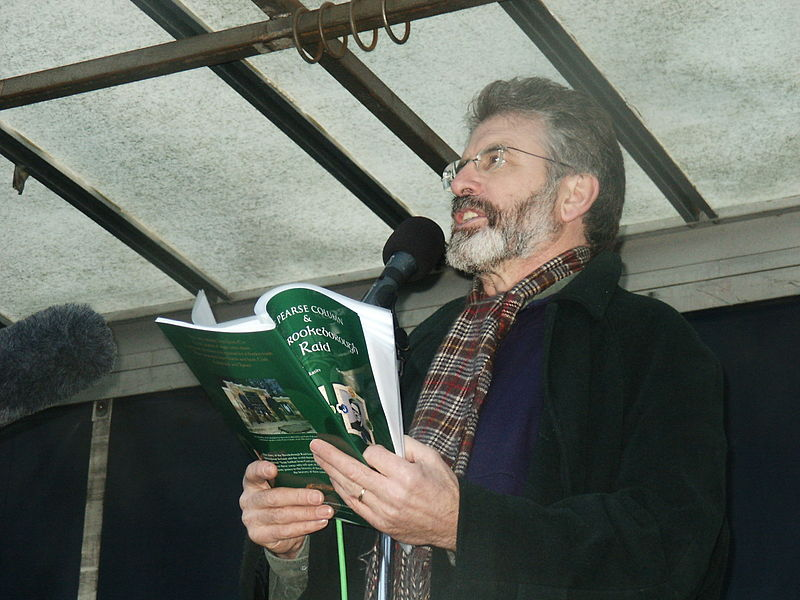 Gerry Adams calls on Irish government to act over arrest