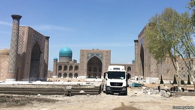 Historic sites in Uzbekistan's Samarkand on verge of collapse