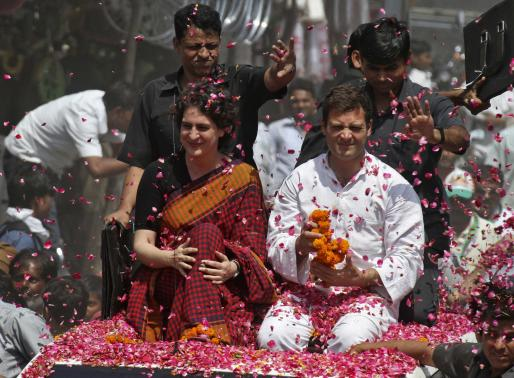 India's Congress closes ranks behind Gandhis after poll rout