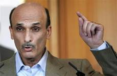 Geagea says ready to quit Lebanon race for March 14 candidate