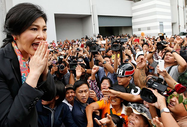 Thailand's ex-PM given permission to leave country