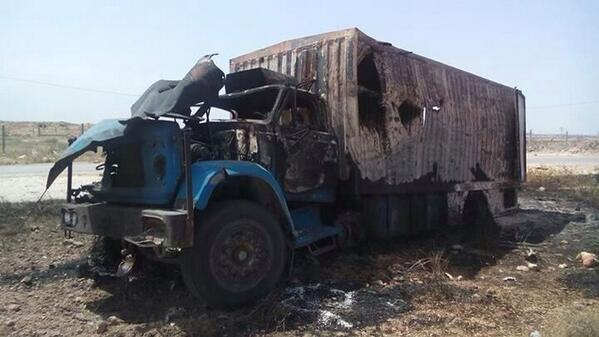 Turkish aid truck comes under attack in Syria, one dead