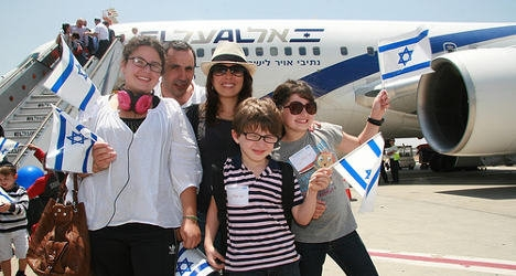 Migration figures of French Jews to Israel quadruples