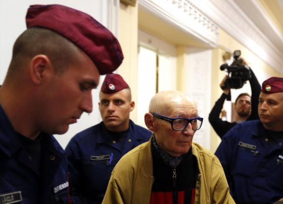 Former top Hungarian Communist, 92, convicted of war crimes