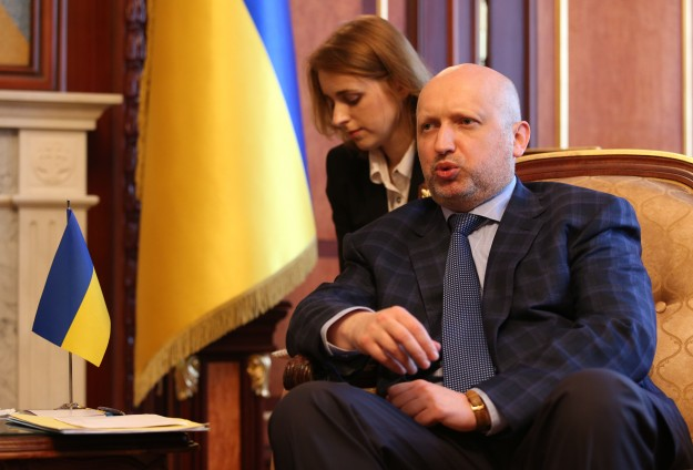 Kiev ready for dialogue, says Acting President