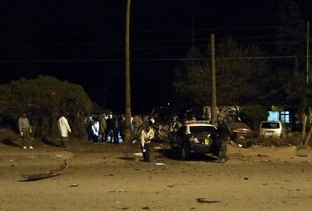 At least 10 killed in two explosions in Kenya- UPDATED