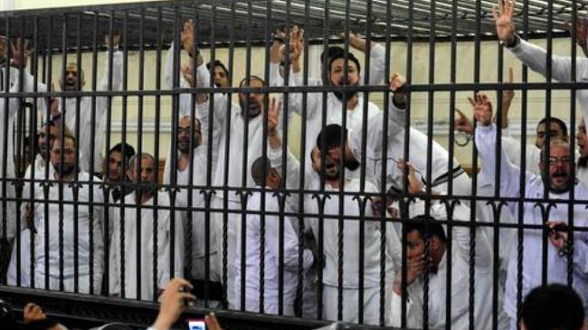 Egypt courts jails 99 Morsi supporters