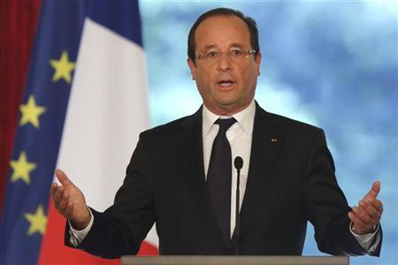 Hollande: Muslims are 'first victims of fanaticism'