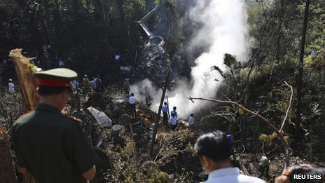 Laos defence minister feared dead in plane crash