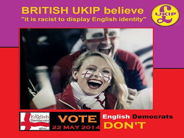 Britain's anti-EU party buys advert to deny racism