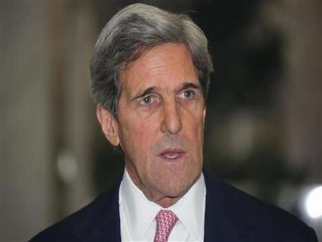 Kerry: US to work with new Palestinian gov't, Lebanon needs president