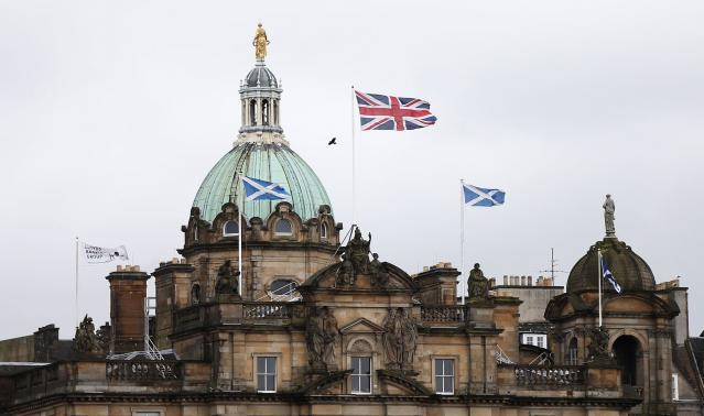 Tale of two towns as Scottish independence shows social divide