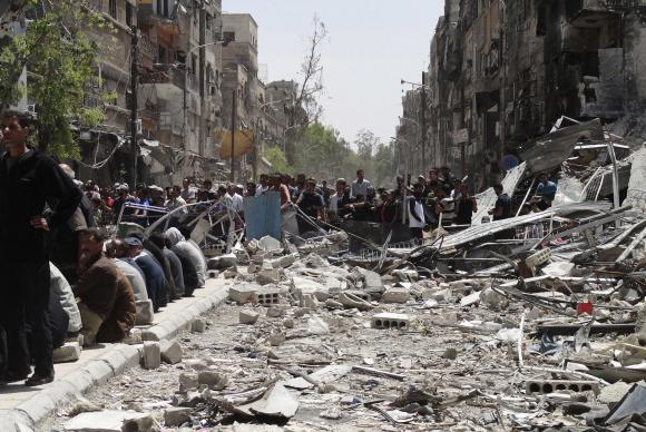 U.N. chief demands urgent action on inadequate Syria aid access
