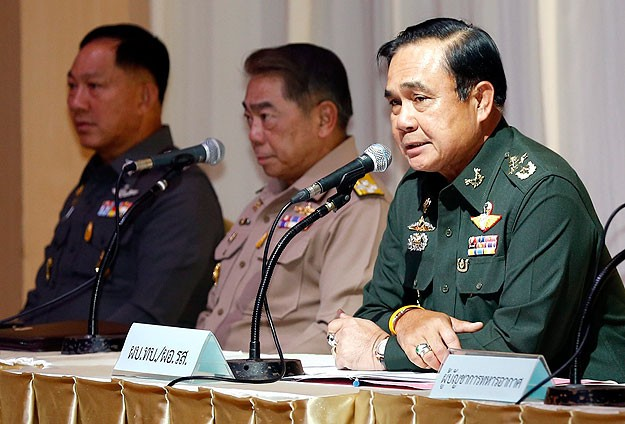 Thai junta says elections to be held October 2015