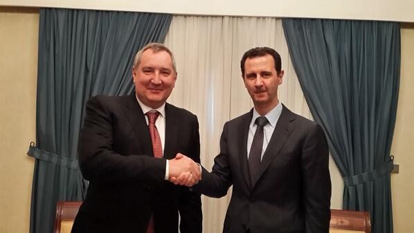 Russian deputy PM visits Assad in Syria