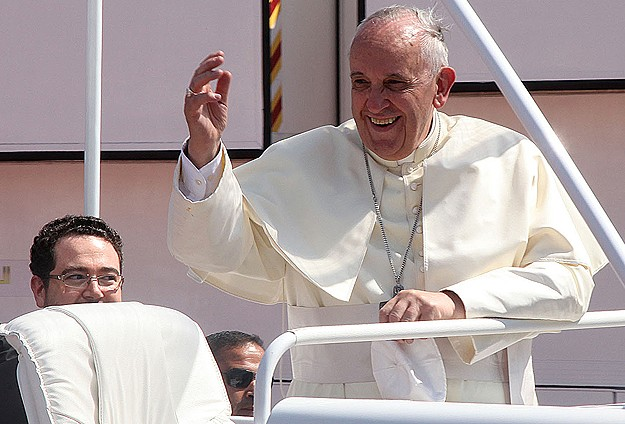 Pope tells Asia's communist nations not to fear Christians