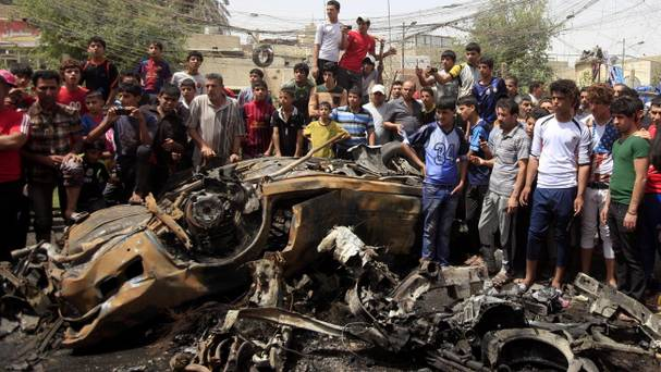 More than 60 people killed in Baghdad car bombs