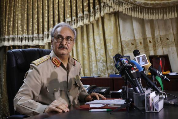 Libya's Haftar hails electoral win by Egypt's Sisi