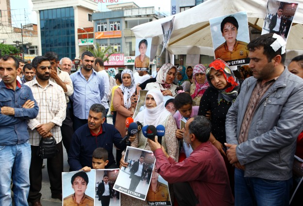 Turkey supports families of children abducted by PKK