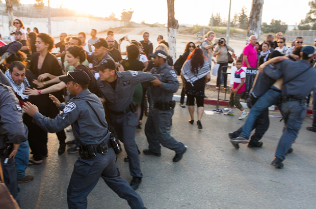 Group condemns Israeli police assaults on reporters
