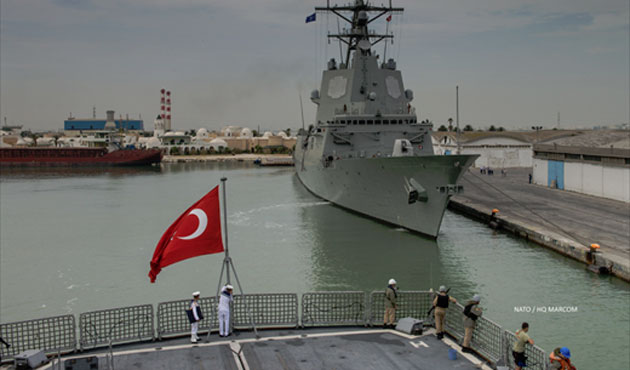 Turkey to participate in Black Sea naval war exercise
