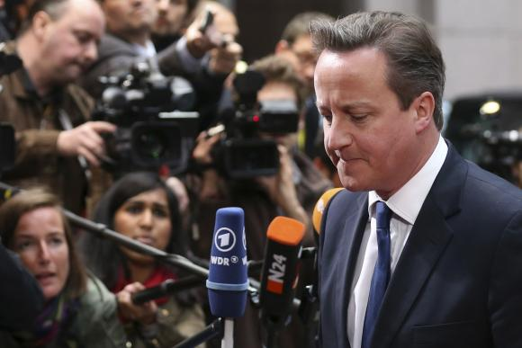 Britain's Cameron 'can do business' with Juncker