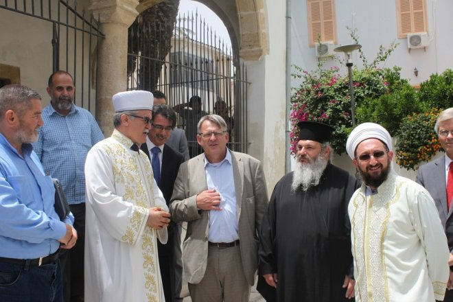 Mosque reopens in Cyprus after 51 year closure