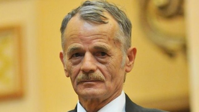 Crimean Tatar leader backs more sanctions on Russia