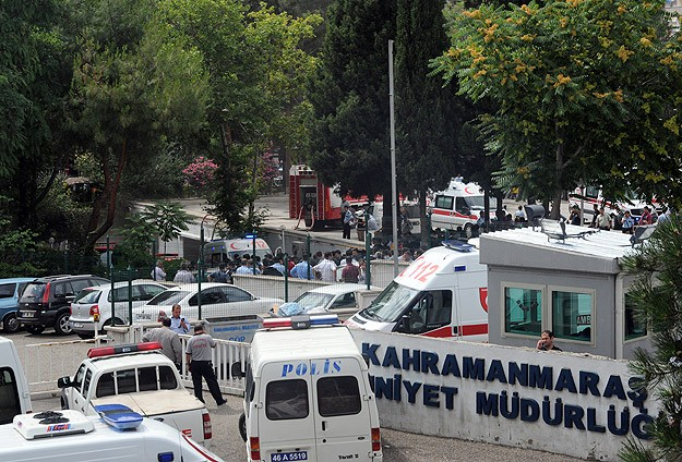 Blast in police compound in Turkey's southeast-UPDATED