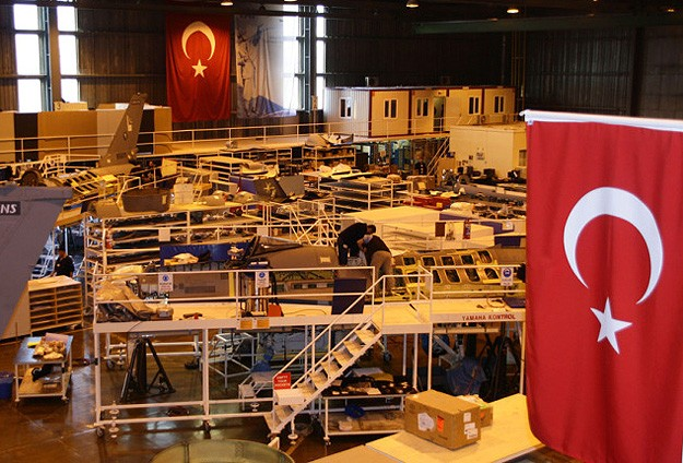 F35 jet engine parts factory opens in Turkey