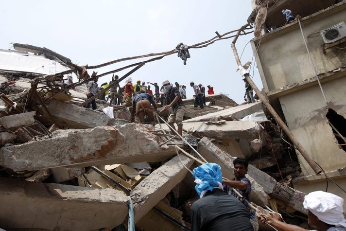 Bangladesh charges 18 over garment factory collapse