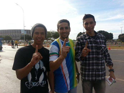 Brazilians answer call to Islam during World Cup
