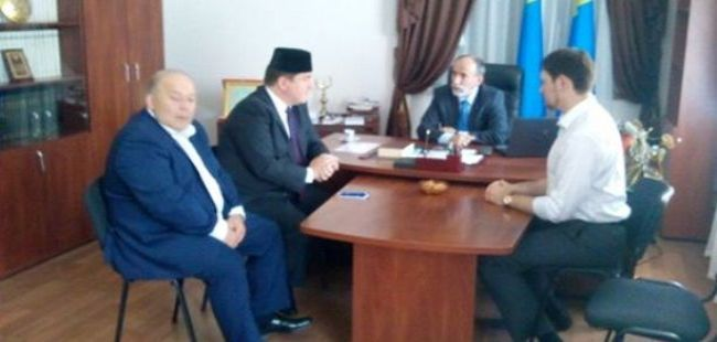 Polish mufti discusses social problems in visit to Crimea