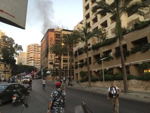 Lebanon suicide bomb claimed by ISIL group